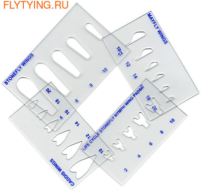 WAPSI 41161 Трафареты для крылышек Life Cycle Wing Stencils Set