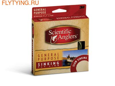 SCIENTIFIC ANGLERS™ 10381 Нахлыстовый шнур Air Cel™ General Purpose Sinking Line