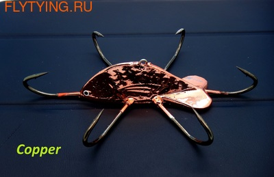 SFT-studio 19006 Зимняя блесна Crab River Robber 90 (фото)