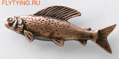 Creative Pewter Designe 93055 Значок COPPER - GRAYLING LARGE