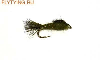 A.Jensen 14209 Мушка нимфа Hare's Ear Olive