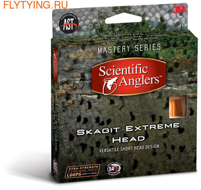 SCIENTIFIC ANGLERS™ 10251 Нахлыстовый шнур Skagit Extreme Head (фото)