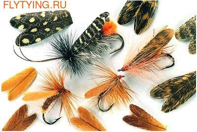 Veniard 58338 Заготовки для крылышек ручейника Natural Feather Caddis Wings (фото)