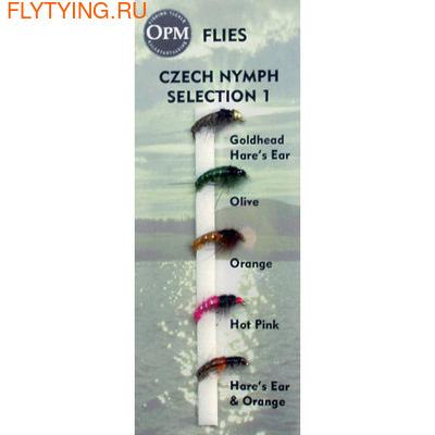 OPM 20039 Набор мушек Czech Nymph Selection #1
