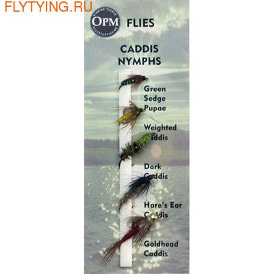 OPM 20047 Набор мушек Caddis Nymph Selection
