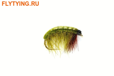 Fulling Mill 14259 Мушка нимфа Olive Bug AK