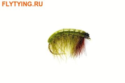 Fulling Mill 14259 Мушка нимфа Olive Bug AK