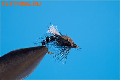Rusangler 14322 Мушка нимфа Black Buzzer