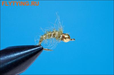 Rusangler 14327 Мушка нимфа GB Mini Hares Lug Olive