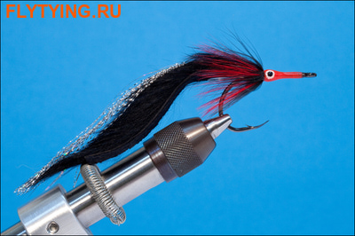 Rusangler 18019 Морская мушка Tarpon Tamer Red and Black