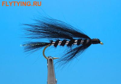 A.Jensen 16180 Кумжевая мушка Solvraeven Black