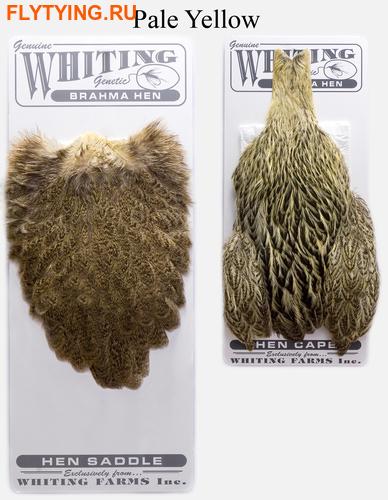 WHITING™ 53274 Набор перьев Brahma Hen Cape and Saddle Set