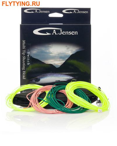 A.Jensen 10466 Нахлыстовый шнур для свич-удилищ Switch Multi Tip Shooting Head
