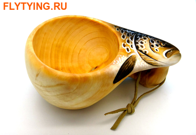 93065 Деревянная финская кружка Wooden Kuksa (фото)