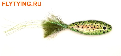 Pacific Fly Group 15360 Мушка стример Wiebe's Totally Tubular Fly Rainbow Trout/Floating