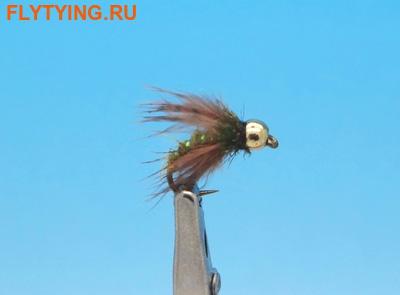 Pacific Fly Group 14450 Мушка нимфа Driftless Caddis Pupa