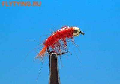 Pacific Fly Group 14461 Мушка нимфа Bead Scud Orange