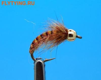 Mikkus & Caddis 14515 Мушка нимфа Striped On A Rock Ginger
