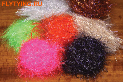 Hareline 55128 Синель Dyed UV Polar Chenille