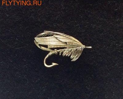 93070 Значок Мушка - Green Highlander Fly