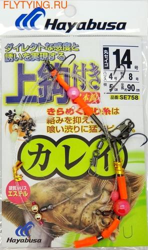 Hayabusa 19228 Оснастка на камбалу SE758 (фото, Hayabusa 19228 Оснастка на камбалу SE758 )