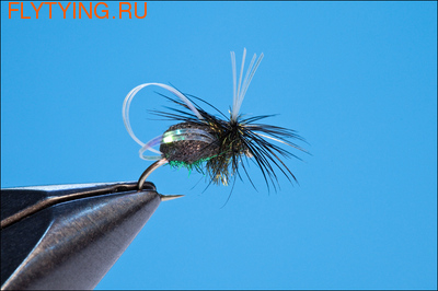 11059 Сухая мушка Beetle Parachute
