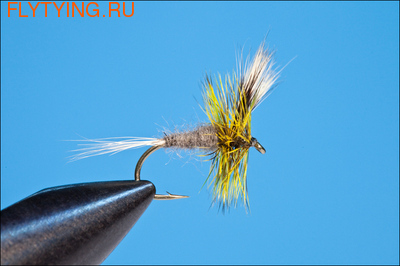 11081 Сухая мушка Wulff Mini