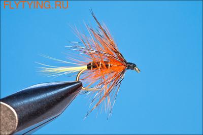 Rusangler 13003 Мокрая мушка Bumble Thunder and Lightning JC