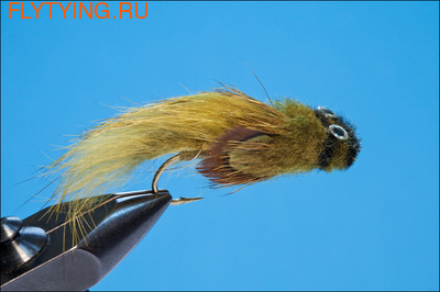 Rusangler 15073 Мушка стример Wool Sculpin Olive