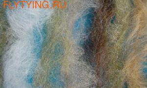 Roman Moser 54043 Даббинговая нить RM Poly Wool Brush 2 inch