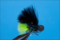 Rusangler 15081 Мушка стример FLOOZY BLACK CHARTREUSE