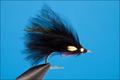 Rusangler 18008 Морская мушка SALTWATER BLACK MARABOU JC