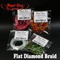 Royal Sissi 52200 Материал для тел мушек Flat Diamond Braid