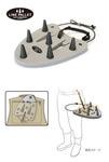 C&F Design 10837 Площадка для укладки шнура LINE PALLET (Mini type)