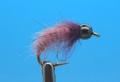 Mikkus & Caddis 14229 Мушка нимфа куколка ручейника BH Fluffy Caddis Larva Pinkish Lavender