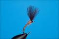 Rusangler 12034 Мушка эмеджер Midge Emerger Dark Gray CDC