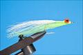 Rusangler 18015 Морская мушка Deep Water Minnow Chartreuse White
