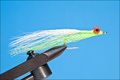 Rusangler 18015 Морская мушка Deep Water Minnow Chartreuse White