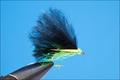 15301 Мушка стример RW's Mini Lure Black and Lime