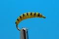 Mikkus & Caddis 14243 Мушка нимфа Ibis Fly Larva Olive/Yellow