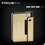FOCUS 93007 Автоматический портсигар-зажигалка Cigarette Case ''Pioneer''