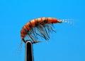 Mikkus & Caddis 14507 Мушка имитация бокоплава Freshwater Boiled Scud Orange Striped