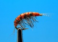 Mikkus & Caddis 14507 Мушка имитация бокоплава Freshwater Boiled Scud Orange Striped
