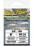 GAMMA Technologies 10560 Конусный нахлыстовый подлесок Frog Hair Fluorocarbon Knotless Tapered Leaders