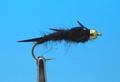 Pacific Fly Group 14416 Мушка нимфа Bead Biot Stone Black