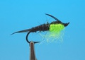 Pacific Fly Group 14445 Мушка нимфа Hot Spo Stone Chartreuse