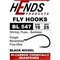 Hends Products 60267 Крючок одинарный HP Caddis Pupa, Shrimp, Buzzer Black Nickel BL547 BN