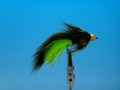 Pacific Fly Group 15368 Мушка стример Cone Head Zonker Olive Chartreuse