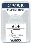 VARIVAS 60553 Крючок одинарный 2120WB Wave Barbless