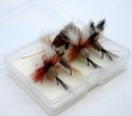 Pacific Fly Group 20082 Набор мушек Chub Fly Set